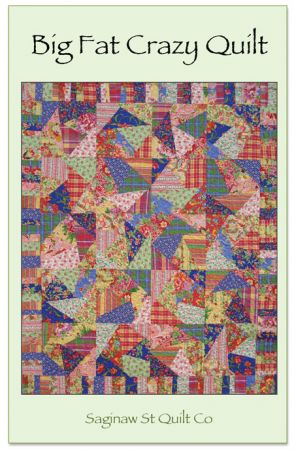 Big Fat Crazy Quilt