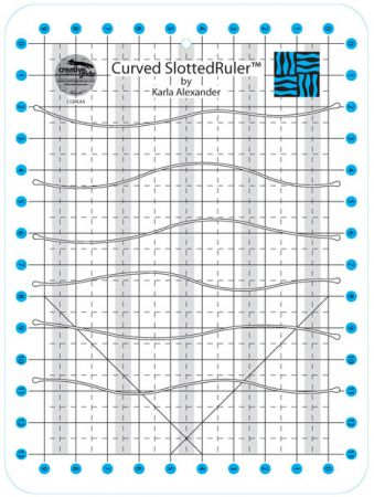 Curved Slotted Ruler