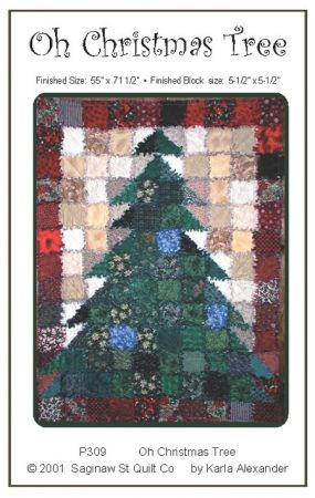 Saginaw Street Quilt Company - home of Karla Alexander : christmas rag quilt patterns - Adamdwight.com